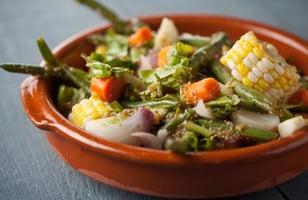 Photo Recette Salade Tiède de Légumes en Papillote