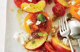 Photo Recette Salade de Tomates et de Nectarines