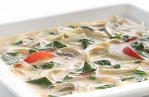 Photo Recette Soupe au Poulet Thaïlandaise « adaptée santé »