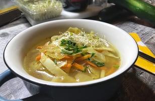Photo Recette Soupe aux Choux et Carottes à la Mijoteuse