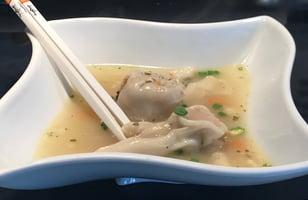 Photo Recette Soupe Won Ton au Porc