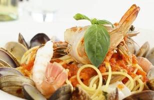 Photo Recette Spaghetti Del Mare du Grand Bleu