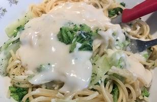 Photo Recette Spaghetti Sauce Blanche et Brocoli