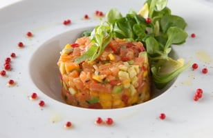 Photo Recette Tartare de Saumon Fumé à la Mangue