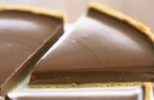 Photo Recette Tarte au Chocolat et Sucre Roux