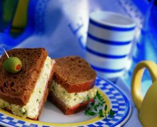 Photo Recette Sandwich à la Salade aux Oeufs (Avec 3 Variantes)
