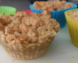 Photo Recette «Carré» aux Pommes dans des Moules à Muffin