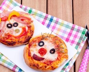 Photo Recette Mini Pizzas Simples pour Enfants