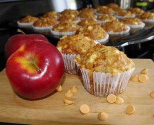 Photo Recette Muffins aux Pommes et Butterscotch