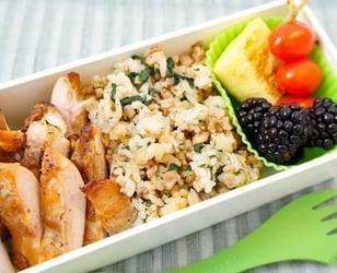 Photo Recette Idées de Boîte à Lunch Santé #23 ::: Poulet Style Pari Pari