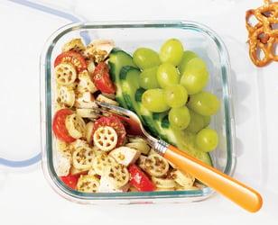 Photo Recette Salade de Pâtes au Pesto et au Poulet