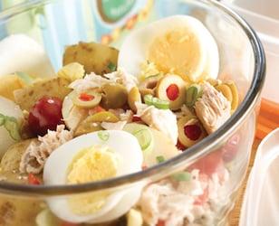 Photo Recette Salade de Pommes de Terre au Thon