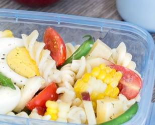 Photo Recette Salade Repas Maïs Coco et Haricots
