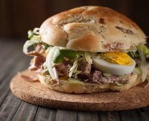 Photo Recette Sandwich Jambon Moutarde et Miel