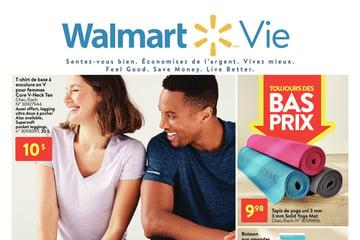 Circulaire Walmart - Livre vivant du 7 au 27 Janvier 2021