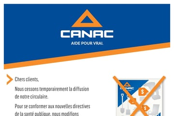 Annonce Canac du 8 au 31 janvier 2021