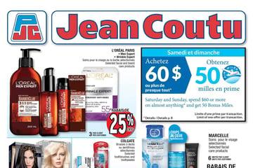 Circulaire Jean Coutu du 14 au 20 Janvier 2021