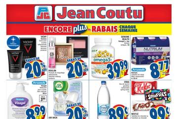 Circulaire Jean Coutu - Encore Plus de Rabais du 1 au 7 Juillet 2021