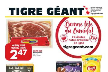 Circulaire Tigre Géant du 30 Juin au 6 Juillet 2021