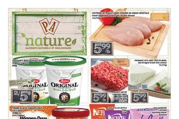Circulaire PA Nature - Aliments Naturels et Biologiques du 30 Août au 12 Septembre 2021