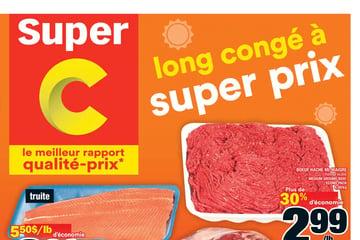 Circulaire Super C du  2 au  8 septembre 2021