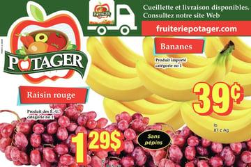 Circulaire Fruiterie Potager Saint-Eustache / Blainville du  9 au 15 septembre 2021