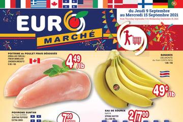 Circulaire Euromarché du 9 au 15 Septembre 2021