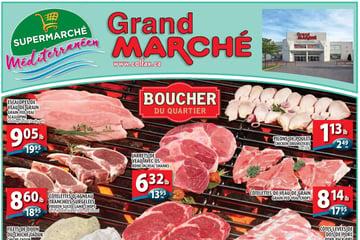 Circulaire Grand Marché Laval du 9 au 15 Septembre 2021