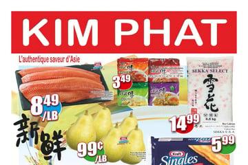 Circulaire Kim Phat du  9 au 15 septembre 2021