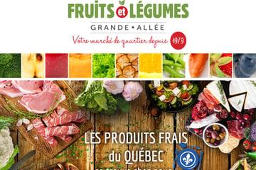 Circulaire Fruits & Légumes Grande-Allée Épicerie Spécialisée du 9 au 15 Septembre 2021