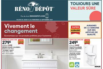 Circulaire Réno-Depot du 16 au 22 Septembre 2021