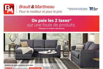 Circulaire Brault et Martineau du 16 septembre au  7 octobre 2021