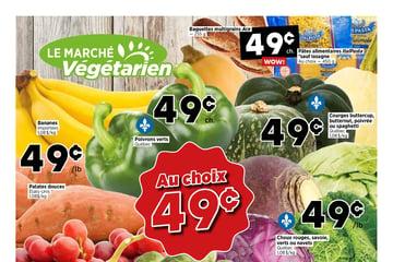 Circulaire Marché Végétarien du 16 au 22 septembre 2021