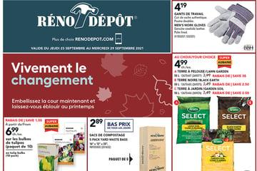 Circulaire Réno-Depot du 23 au 29 Septembre 2021