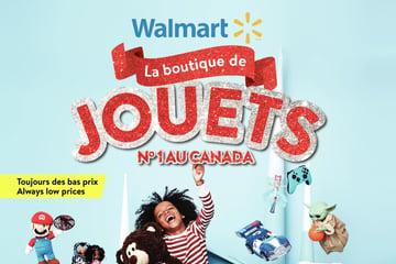 Circulaire Walmart - Livre de Jouets du 21 Octobre au 24 Décembre 2021