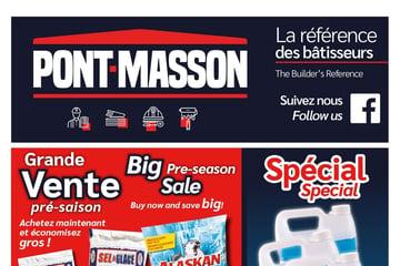 Circulaire Matériaux Pont Masson du 21 octobre au  3 novembre 2021