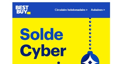 Image de la Promotion Cyber Lundi Best Buy
