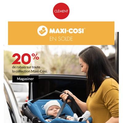 Image de la Promotion Faites vite! 20% de rabais sur Maxi-Cosi