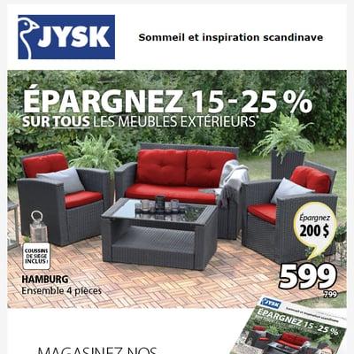 Image de la Promotion Tous les meubles extérieurs en solde*
