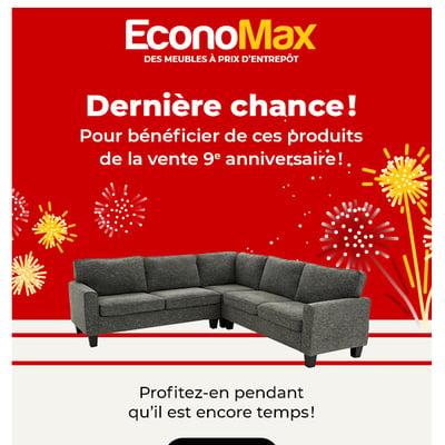 Image de la Promotion Derniers jours pour profiter de notre vente anniversaire!