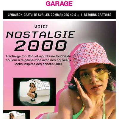 Image de la Promotion COLLECTION LIMITÉE : NOSTALGIE 2000