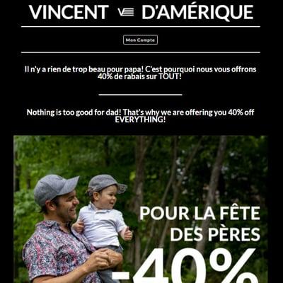 Image de la Promotion Promotion Fête des Pères!