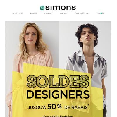 Image de la Promotion Musts griffés jusqu'à 50 % de Rabais!