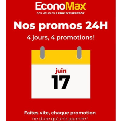 Image de la Promotion 4 Jours, 4 Promotions !