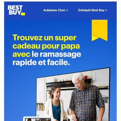 Image de la Promotion Aubaines de la Fête des Pères.