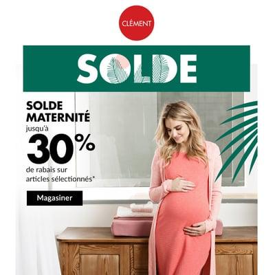 Image de la Promotion Jusqu'à 30% de Rabais sur Vêtements Maternité