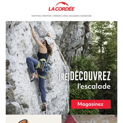 Image de la Promotion (Re)Découvrez l'Escalade