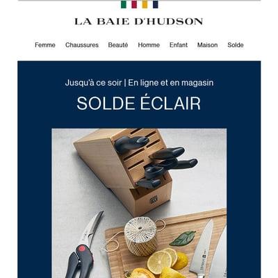Image de la Promotion SOLDE ÉCLAIR : Jusqu'à 60 % de Rabais pour équiper votre Cuisine de Rêve