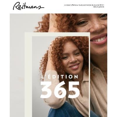 Image de la Promotion L'Édition 365 est Officiellement arrivée...