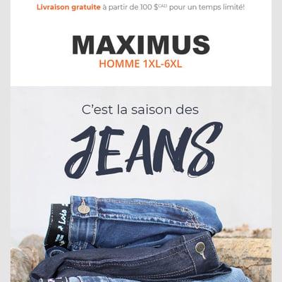 Image de la Promotion C'est la Saison des JEANS!!!
